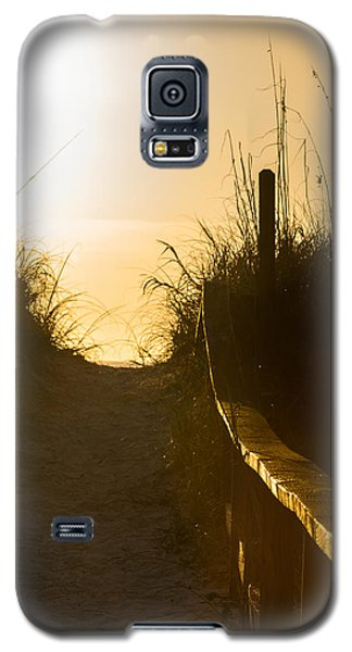 Golden Beach Access Galaxy S5 Case