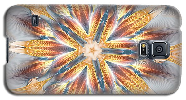 Golden Beach Kaleidoscope Galaxy S5 Case