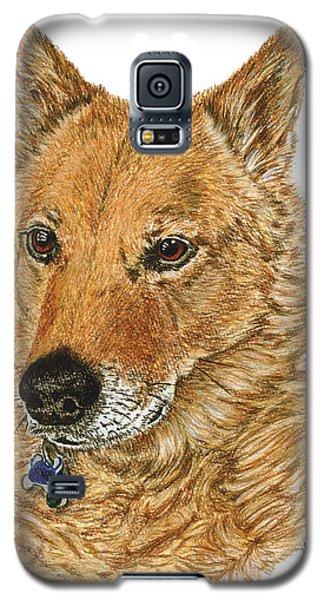 Golden Beauty Galaxy S5 Case