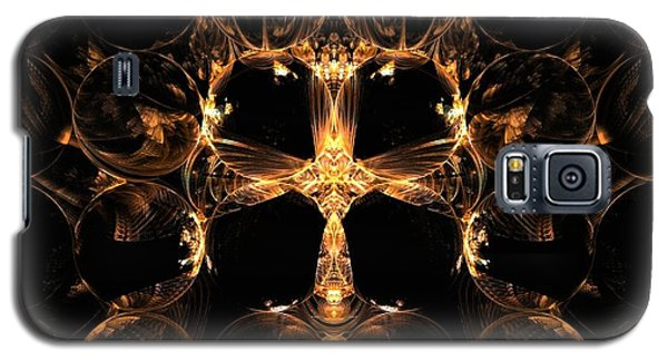 Golden Bee Galaxy S5 Case by Linda Whiteside