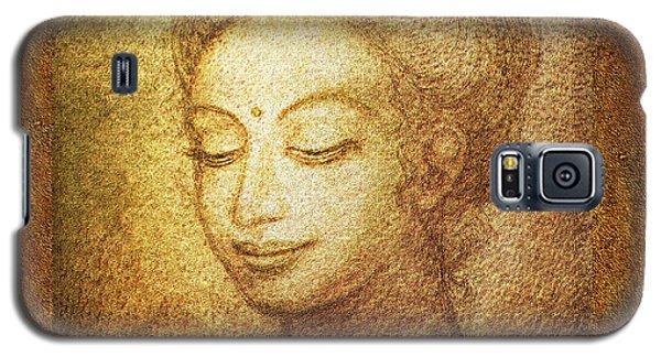 Golden Buddha Galaxy S5 Case by Ananda Vdovic