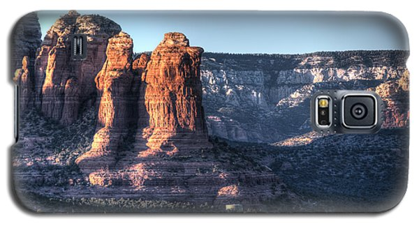 Galaxy S5 Case featuring the photograph Golden Buttes by Lynn Geoffroy