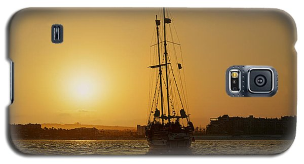 Galaxy S5 Case featuring the photograph Golden Cabo Sunset by Christine Till