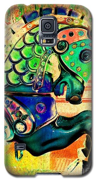 Golden Carousel Horse Galaxy S5 Case