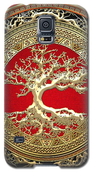 Golden Celtic Tree Of Life  Galaxy S5 Case