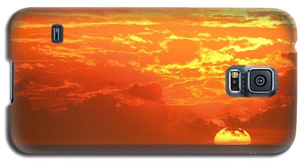 Golden Clouds Galaxy S5 Case by Mariarosa Rockefeller