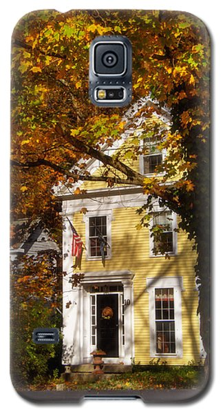 Golden Colonial Galaxy S5 Case by Joann Vitali