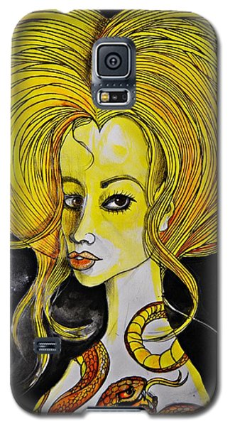 Golden Core Galaxy S5 Case by Sandro Ramani