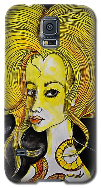 Golden Core Galaxy S5 Case by Sandro Ramani