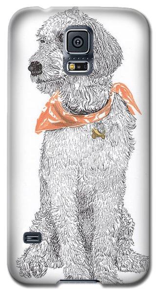 Trash Talking Golden Doodle Galaxy S5 Case by Jack Pumphrey