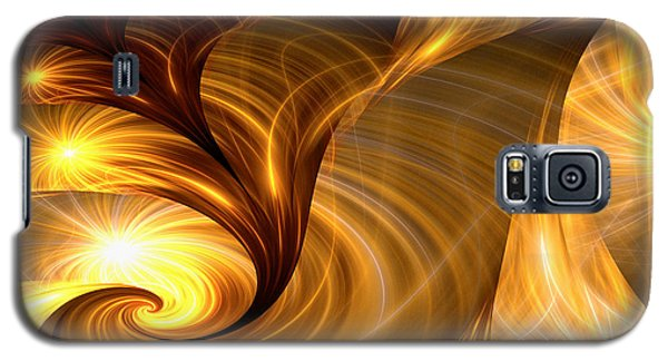 Golden Dreams I Galaxy S5 Case by Lea Wiggins