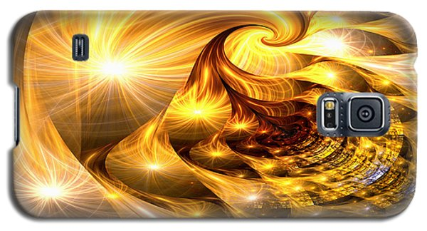 Golden Dreams II Galaxy S5 Case by Lea Wiggins