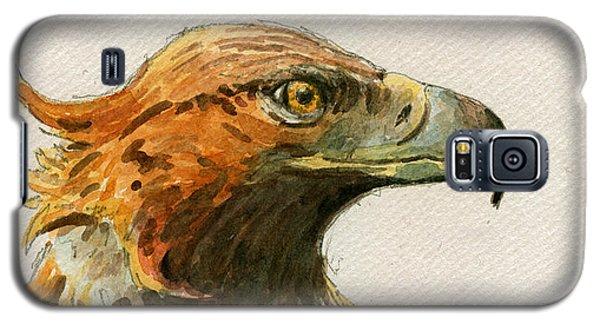 Mouse Galaxy S5 Case - Golden Eagle by Juan  Bosco