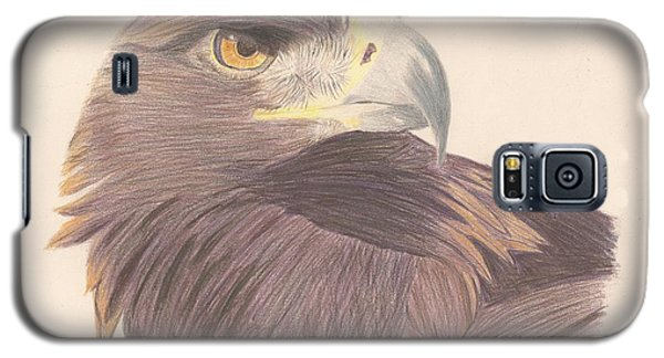 Golden Eagle Study Galaxy S5 Case