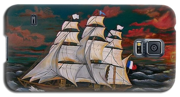 Golden Era Of Sail Galaxy S5 Case