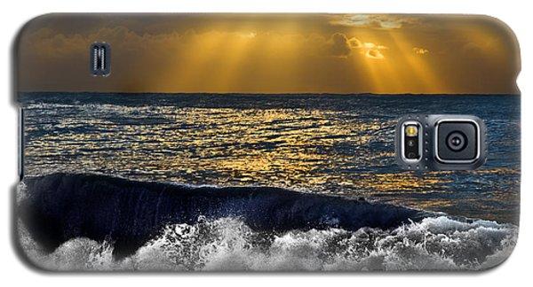 Golden Eye Of The Morning Galaxy S5 Case