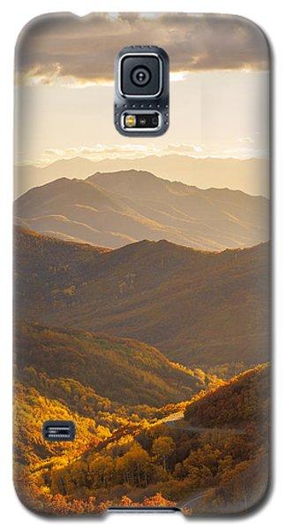 Golden Fall Galaxy S5 Case