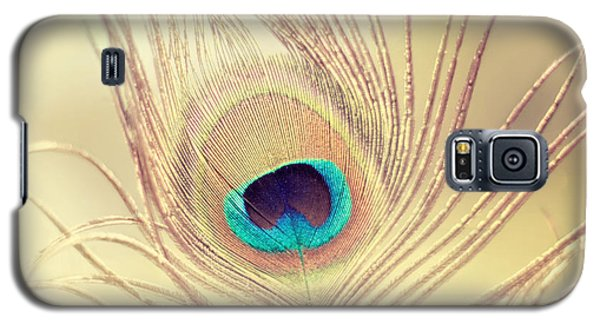 Golden Feather Galaxy S5 Case