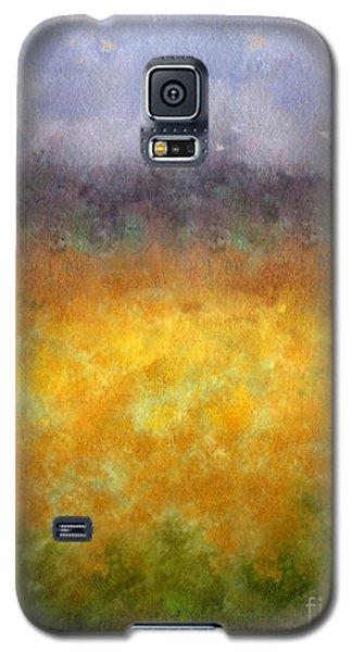 Galaxy S5 Case featuring the digital art Golden Fields by Darla Wood