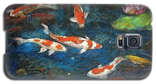 Golden Fish Galaxy S5 Case by Jieming Wang
