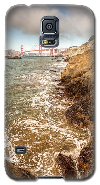 Golden Gate Bay Galaxy S5 Case