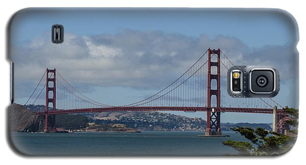 Golden Gate Bridge 2 Galaxy S5 Case by Judy Wolinsky