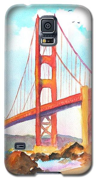 Golden Gate Bridge 3 Galaxy S5 Case