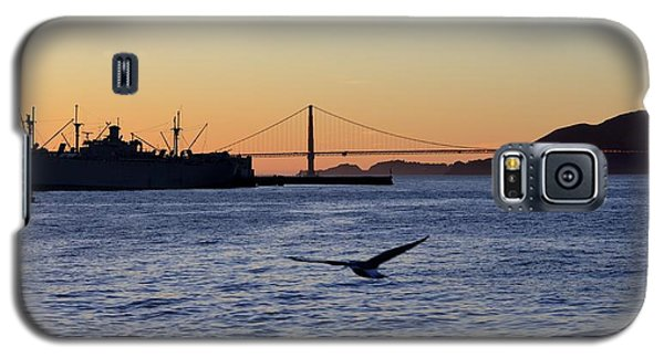 Galaxy S5 Case featuring the photograph Golden Gate Bridge by Alex King
