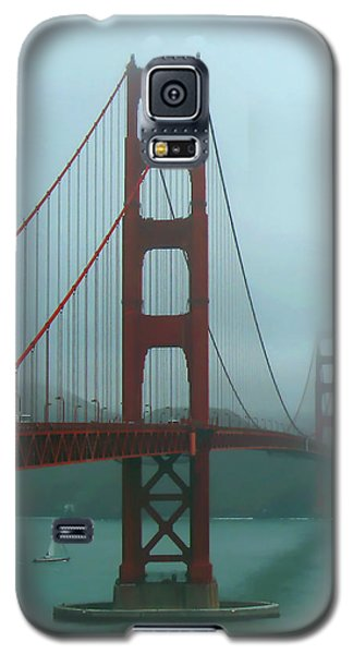 Golden Gate Bridge And Partial Arch In Color  Galaxy S5 Case by Connie Fox