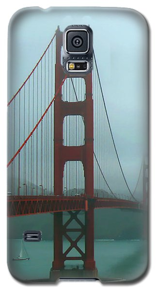 Golden Gate Bridge And Partial Arch In Color  Galaxy S5 Case
