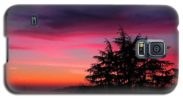 Golden Gate Bridge At Dusk Galaxy S5 Case