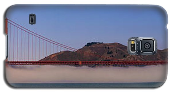 Golden Gate Bridge Over Fog Panorama Galaxy S5 Case