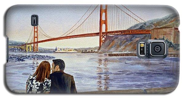 Golden Gate Bridge San Francisco - Two Love Birds Galaxy S5 Case