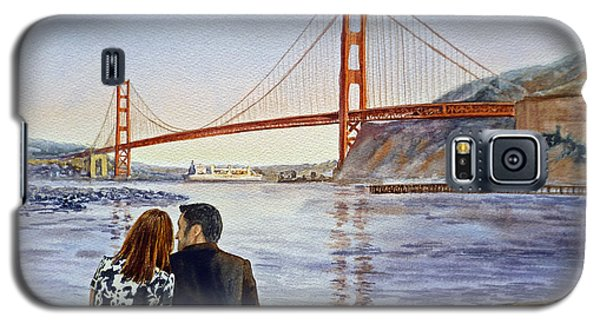 Golden Gate Bridge San Francisco - Two Love Birds Galaxy S5 Case
