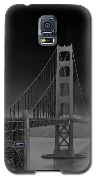 Golden Gate Bridge To Sausalito Galaxy S5 Case by Connie Fox