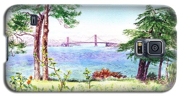 Golden Gate Bridge View From Lincoln Park San Francisco Galaxy S5 Case