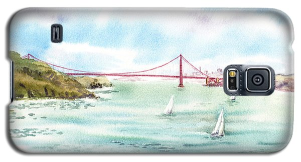 Golden Gate Bridge View From Point Bonita Galaxy S5 Case