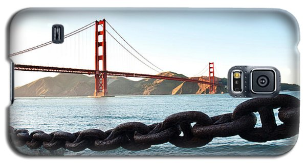 Golden Gate Bridge With Chain Galaxy S5 Case