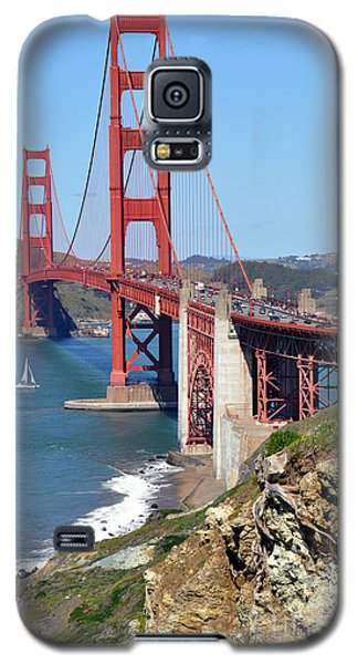 Golden Gate Galaxy S5 Case by Gina Savage
