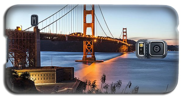 Golden Gate Night Galaxy S5 Case