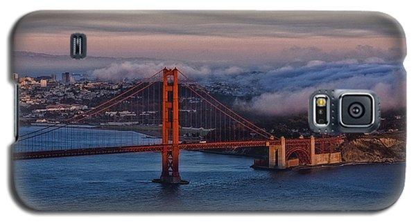 Golden Gate Sunset Galaxy S5 Case