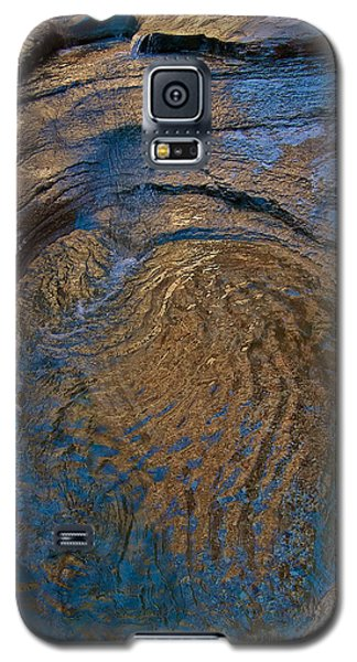 Golden Glamour Galaxy S5 Case by Britt Runyon