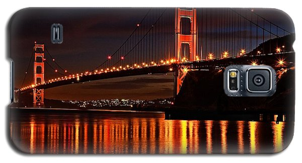 Galaxy S5 Case featuring the photograph Golden Glory by Dave Files