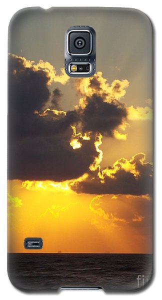 Golden Glow 2 Galaxy S5 Case