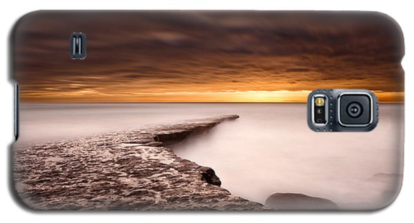 Golden Galaxy S5 Case by Jorge Maia