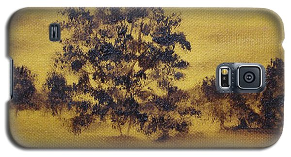 Golden Landscape Galaxy S5 Case by Judith Rhue