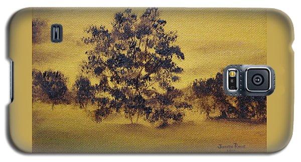 Golden Landscape Galaxy S5 Case by Judith Rhue