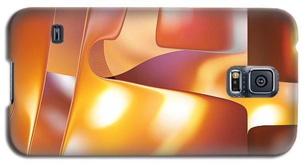 Golden Light Galaxy S5 Case