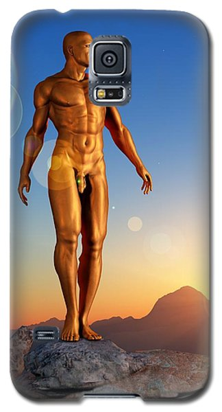 Golden Man Galaxy S5 Case