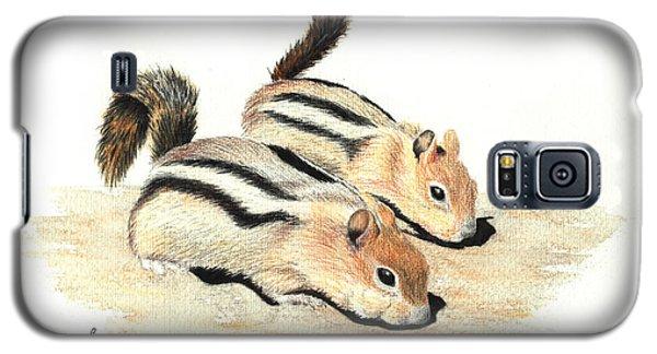 Golden-mantled Ground Squirrels Galaxy S5 Case